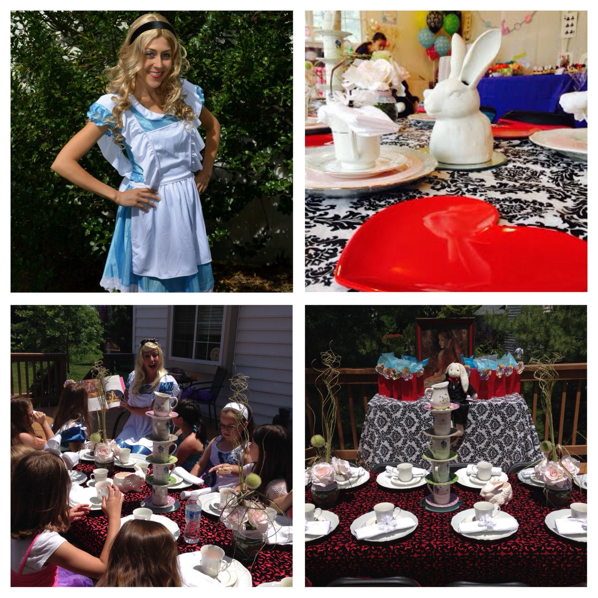Birthday Party Entertainment Nj: NJ Tea Parties At Home Alice In Wonderland Theme Party For